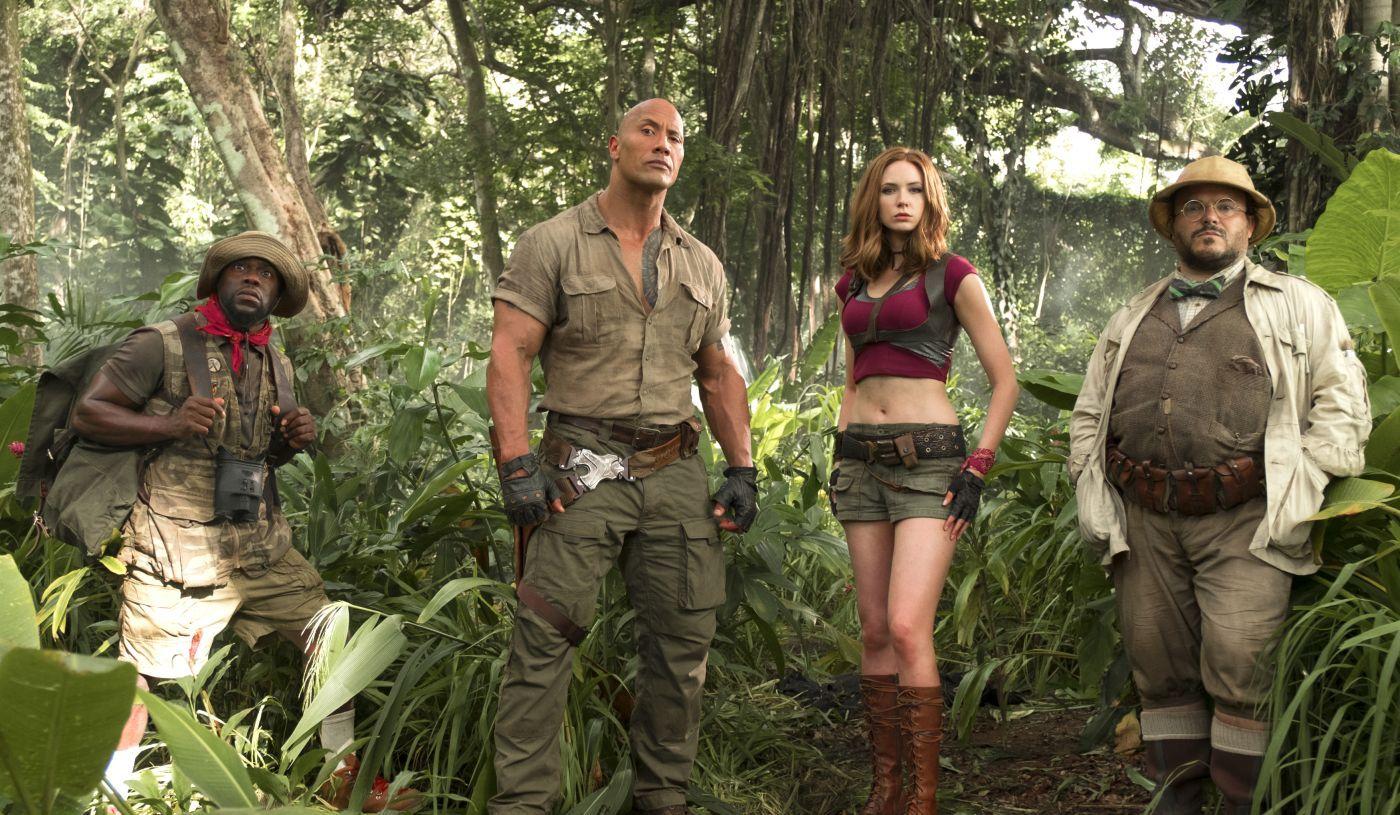 Filmkritik Jumanji   Willkommen im Dschungel   lauterfilme.de